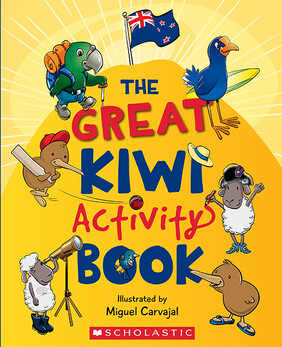The Great New Zealand Activity Book