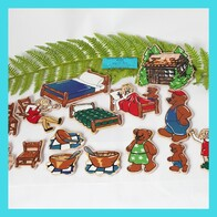 Goldilocks And The Three Bears Magnetic Story Puzzle
