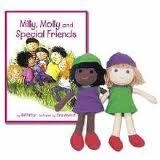 Milly Molly Special Friends Book and Dolls Set
