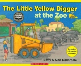 The Little Yellow Digger At the Zoo