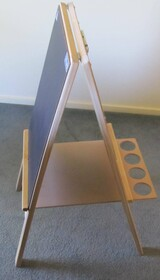 Paint Easel with Blackboard