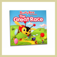 Buzzy Bee: The Great Race Book