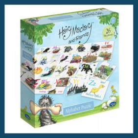 26 Piece Alphabet Floor Puzzle - Hairy Maclary and Friends