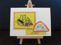 Have Heaps of Fun Handmade Card