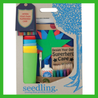 Create Your Own Superhero Cape by Seedling