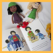 Milly Molly and the Seceret Scarves - Book and Doll set