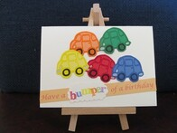 Have a Bumper Birthday Handmade Card