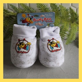 Newborn Buzzy Bee Booties